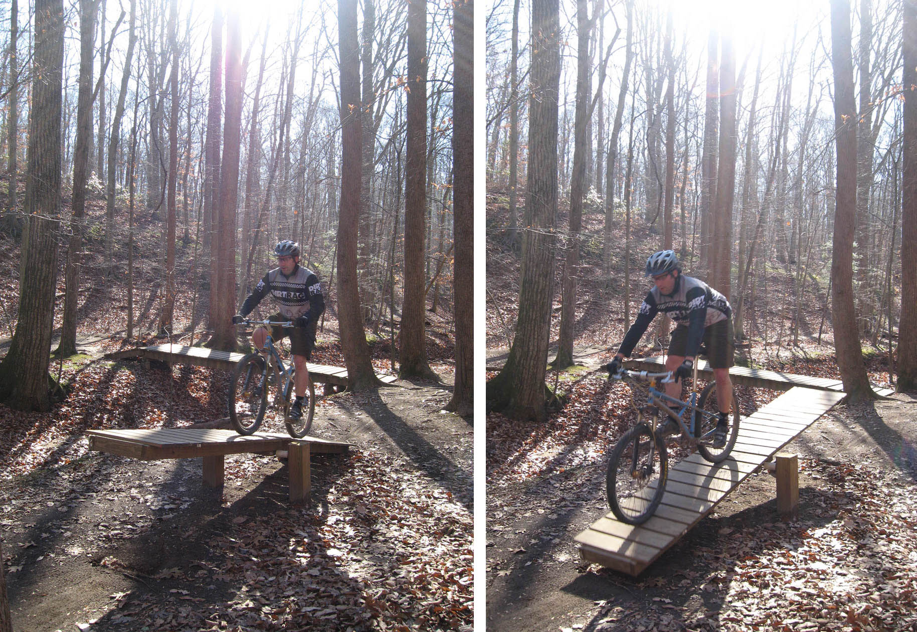 Teeter-Totters at Fountainhead TurkeyDay Ride 11/27/08 (pic: A.Scano)